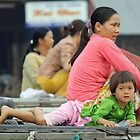 Mother and Daughter-Vietnam by lynnehayes