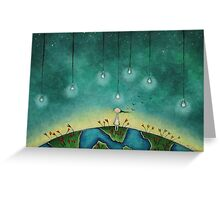 You light up my world Greeting Card
