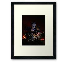 Cameron 'Puppet Master' (Lewes Bonfire 2010) Framed Print