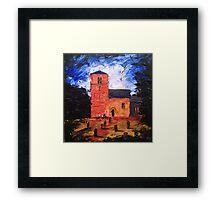 'Saxon Church, Kirk Hammerton' Framed Print
