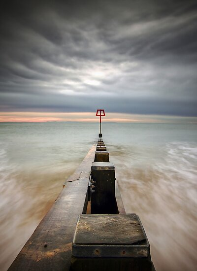 Swanage Groyne by igotmeacanon