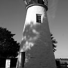 Concord Lighthouse by searchlight