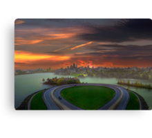 Allegory of Unreachable Land  Canvas Print