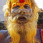 No Sad Sadhus in Nepal by AlliD