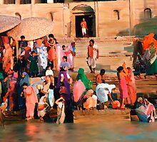 Ganges by Kurt  Van Wagner