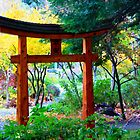 Mayne Island Japanese Garden  by TerrillWelch