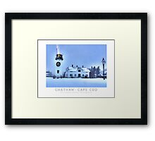 Christmas by the Sea Poster Framed Print
