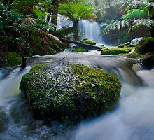 Horseshoe Falls - Tasmania by lee Henley