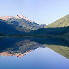 Red Mountain, Crystal Lake, Morning by rjcolby