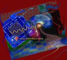 Postcard from Cyberspace by RickDoranArt