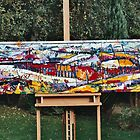 Panaromic Landscape with Divisions(whole piece) by Graham Cox