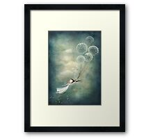 Away with the fairies  Framed Print