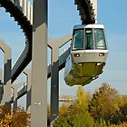 Skytrain, Düsseldorf International Airport, Germany. by David A. L. Davies