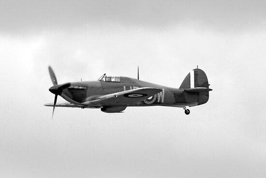 WW2 RAF Hurricane Fighter Plane by Chris L Smith