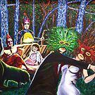'The Gathering (at the Edge of the Forest)' by Jerry Kirk