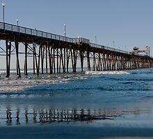 Oceanside Pier by Merrian O. Lucando