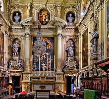 Jesuit's Church, Valletta Malta--The Oratory by Edwin  Catania