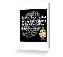 Inspector Clouseau Greeting Card
