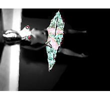 Dancing Girl, Imaginary Clothes. Photographic Print