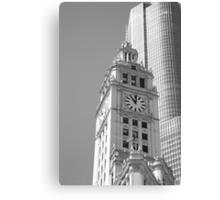 Chicago Clocktower Canvas Print