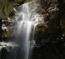 Waterfall In Smoo Caves by JJsEscape