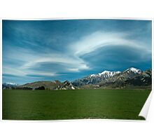 Lenticular Clouds 3 Poster