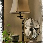 Granny&#x27;s Fancy Electric Fan by  Bob Hall