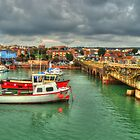 Folkestone Harbour by Rob Hawkins