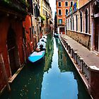 Venice Canal by Stephen Burke