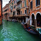 Gondoliers of Venice by Stephen Burke
