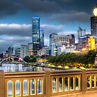 St. Kilda Rd Bridge - Melbourne by Frank Moroni