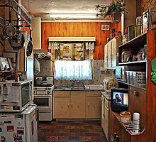 Modern Day 1955 Kitchen by JaninesWorld