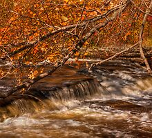Autumn at Shohola Falls by JHRphotoART