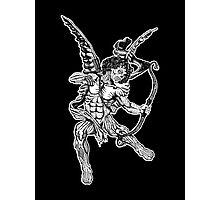 Zombie Cupid Photographic Print