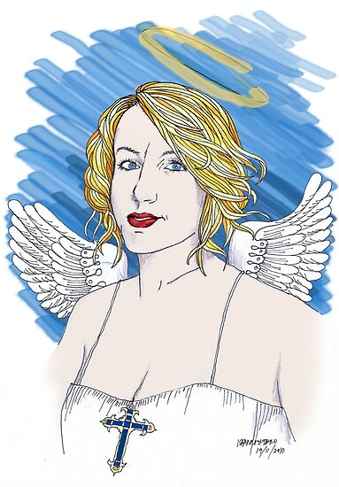 Angel Fiona by iskamontero