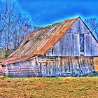 Barn of fall by David Owens