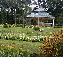 Scovill Zoo Gazebo, Decatur IL by Mona Gainey-Lanier