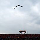 Military Flyover by BarbL