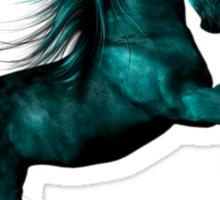 Blue Ice .. Fantasy Horse Sticker