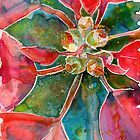 Poinsettia by Yevgenia Watts