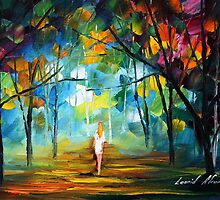 PURE - Original Art Oil Painting By Leonid Afremov by Leonid  Afremov