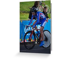 Elite Womens Time Trial Greeting Card
