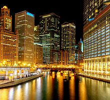 Chicago River by Steve Ivanov