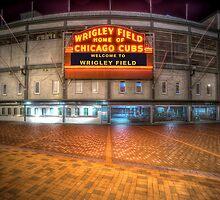 Wrigley Field by Steve Ivanov