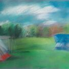 Tents at Patapsco Valley State Park, MD by Marcie Wolf-Hubbard