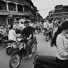 Urban Chaos - Battambang, Cambodia by Alex Zuccarelli