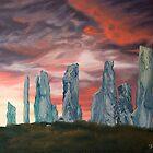 Callanish stones by Pam Buffery