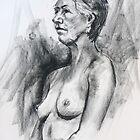 Life Drawing 20/11/2010 by Mick Kupresanin