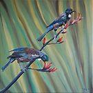A two tui flax by Pam Buffery