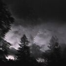 The Storm, Mariposa, Ca Oct. 2010 by Alan Brazzel